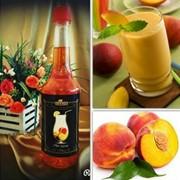 Сироп для коктейля со вкусом персика фото