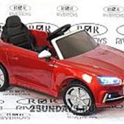 Детский электромобиль Audi S5 вишневый глянец фото