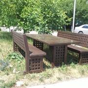 Деревянная мебель в классическом стиле 2200*950 фото