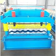 Линия для производства металлочерепицы в Китае фото