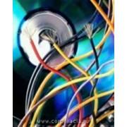 Прокладка кабеля. фото