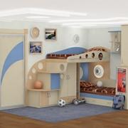 Детская комната круги фото