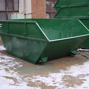 """Бункер """"Лодочка"""" (Контейнер для сбора отходов, 8 куб.м) фото"""