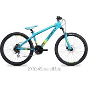 Велосипед Ghost 4-x Comp blue/black/lime green 2014, 14DX2751 фото
