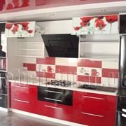 Кухни с фотофасадами фото