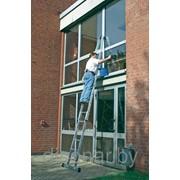 Лестница 3секционная для мытья стекол KRAUSE 802187 фото