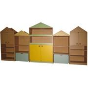 Стеллажи для игрушек, стеллаж для игрушек, стеллажи, стеллаж, мебель для детских садов. фото
