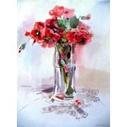 "Картины цветов | Paintingsof flowers ""Poppies"" фото"