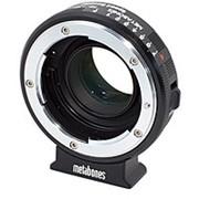 Metabones Nikon G Lens to Blackmagic 2.5k Cinema Camera with Micro-4/3 Mount Speed Booster (MB_SPNFG-BMCC-BM1) 889 фото
