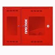 Шкаф пожарный ШП-К-02Нс Престиж навесной с дверцей со стеклом фото