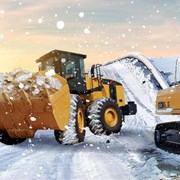 уборка и вывоз снега 6 куб. фото