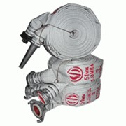 Рукав пожарный напорный d.51-1.0 MПа с ГР-50 для кранов фото