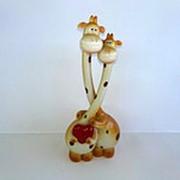 Сувенир Жирафы, 22 см фото