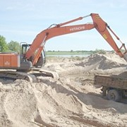 Песок добыча, продажа фото