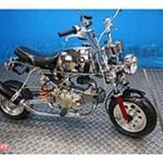 Мопед мокик Honda Monkey Gorilla рама AB27 гв 2001 Minibike тюнинг пробег 5 т.км платиновый фото