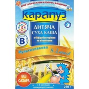 Каша Карапуз мультизлаковая 8 злаков с бифидобактериями фото