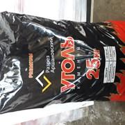 Уголь Каменный ДО 25-50 в мешках 25 кг. Доставка. фото