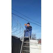 Монтаж Спирального барьера безопасности СББ Егоза  фото
