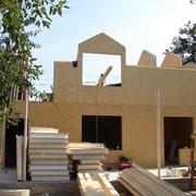 Строительство домов, коттеджей. Панельное домостроение. Дома панельные быстросборные фото
