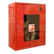 Шкаф Ш-ПК-01Н (красный/белый) 540х650х230 фото