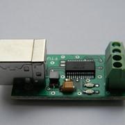 Плата конвертора сигналов USB-TTL Преобразователи фото