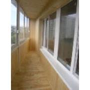 Застекление балконов фотография