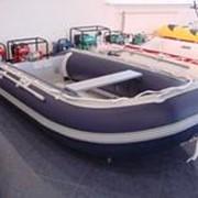"""Надувная лодка из ПВХ """"Омакс"""" синяя 270АL фото"""