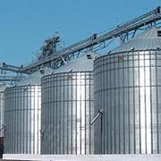 Строительство элеваторов и зернохранилищ фото