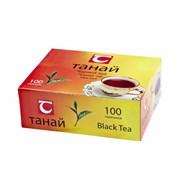 Чай Танай черный байховый 100 пак. фото
