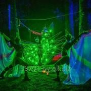 Светодиодные танцевальные номера (световые крылья) фото