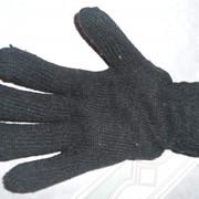 Перчатки рабочие утепленные двойные полушерстяные фото