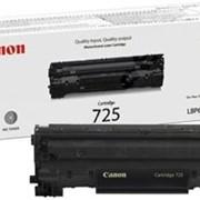 Заправка картриджа для лазерных принтеров 725 Canon 6000 LBP З, сервисное обслуживание офисного оборудования, оргтехники фото