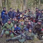Проведение военно-тактических игр лазертаг и развлекательных мероприятий с использованием точных копий боевого оружия. фото