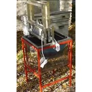 Вертикальный распечатыватель медовых рамок с бункером фото