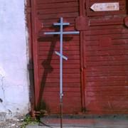Крест из нержавеющей стали фото