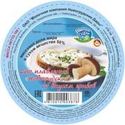 Сыр плавленый Новогрудский со вкусом грибов фото