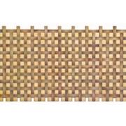 Листовая панель ПВХ Плетенка Орех 960*480мм, толщина 0,4 мм фото