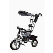 Велосипед 3-х колесный Mini Trike надувные (графит) фото