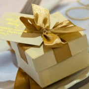 Бомбоньеркы, подарки гостям фото