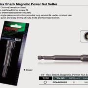 Головка на шуруповерт 8мм L=100мм магнитная (на блистере) TOPTUL BEAB0808G фото