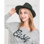 Летняя шляпа федора1 фото