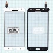 Сенсорное стекло (тачскрин) для Samsung Galaxy J7 SM-J700F белое, Диагональ 5.5 фото