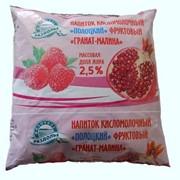 Напиток кисломолочный Полоцкий Гранат-малина фото