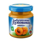Б.лукошко пюре из абрикосов (с 4 мес) 100г фото
