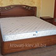 """Двуспальная деревянная кровать """"Марго"""" в Полтаве фото"""