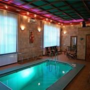 Сауна с с большим басейном фото