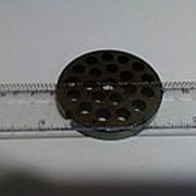285.0 Решетка для промышленной мясорубки Система ENTERPRISE (Д-59,5/9мм, раб. отв. 8мм) фото