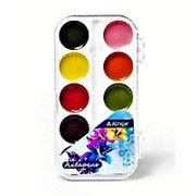 "Краска 064281 Алингар AL 4703 ""Букет лилий"" акварель ( 10 цветов ) карамельная. без кисти, пластиковый box, европодвес ( цена за 1 шт.) фото"