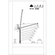 Кран башенный QTD800 (S800/LL25) фото