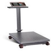 Весы коммерческие электронные Умница ВТЭ-1000 кг-К, со счетным устройством, на колёсах фото
